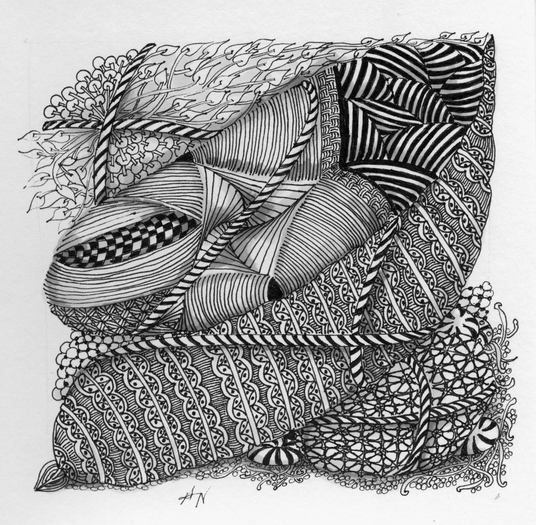 How To Remove Ink From Leather >> Zentangles   Angelabranon's Weblog   Page 2